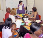 me teaching in 2001