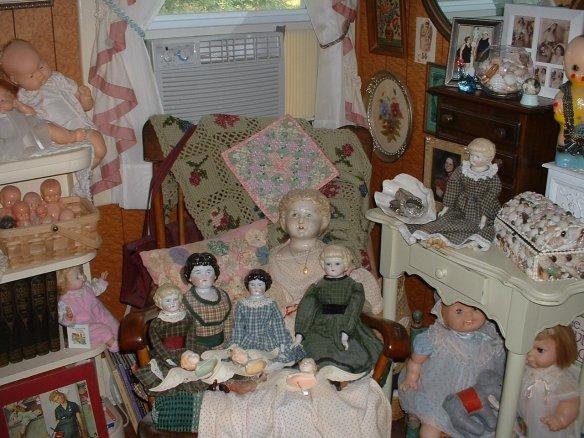 a bedroom corner display - 2008